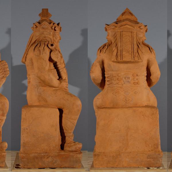 Terracotta  Restoration: Triglav